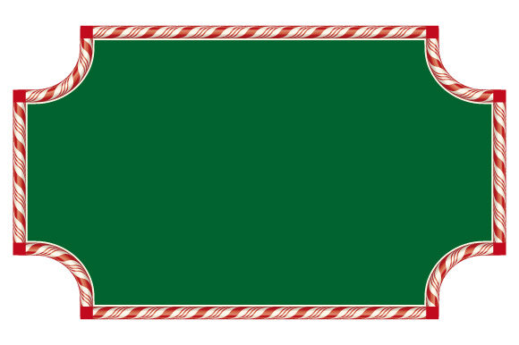 Download Free Frame Candy Cane Background Graphic By Graphicsfarm Creative for Cricut Explore, Silhouette and other cutting machines.
