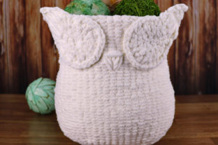 Knit Owl Basket Pattern Graphic Knitting Patterns By Knit and Crochet Ever After