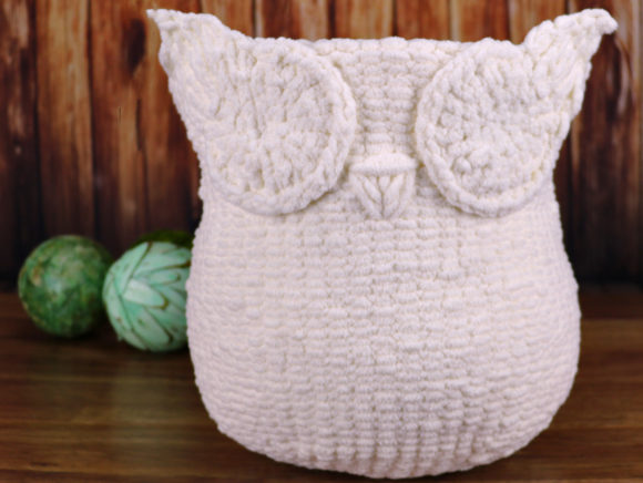 Knit Owl Basket Pattern Graphic Knitting Patterns By Knit and Crochet Ever After - Image 3