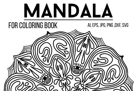 Download Free Mandala Graphics 25 Graphic By Stanosh Creative Fabrica for Cricut Explore, Silhouette and other cutting machines.