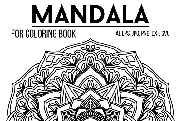 Print on Demand: Mandala Graphics 57 Graphic Coloring Pages & Books By stanosh