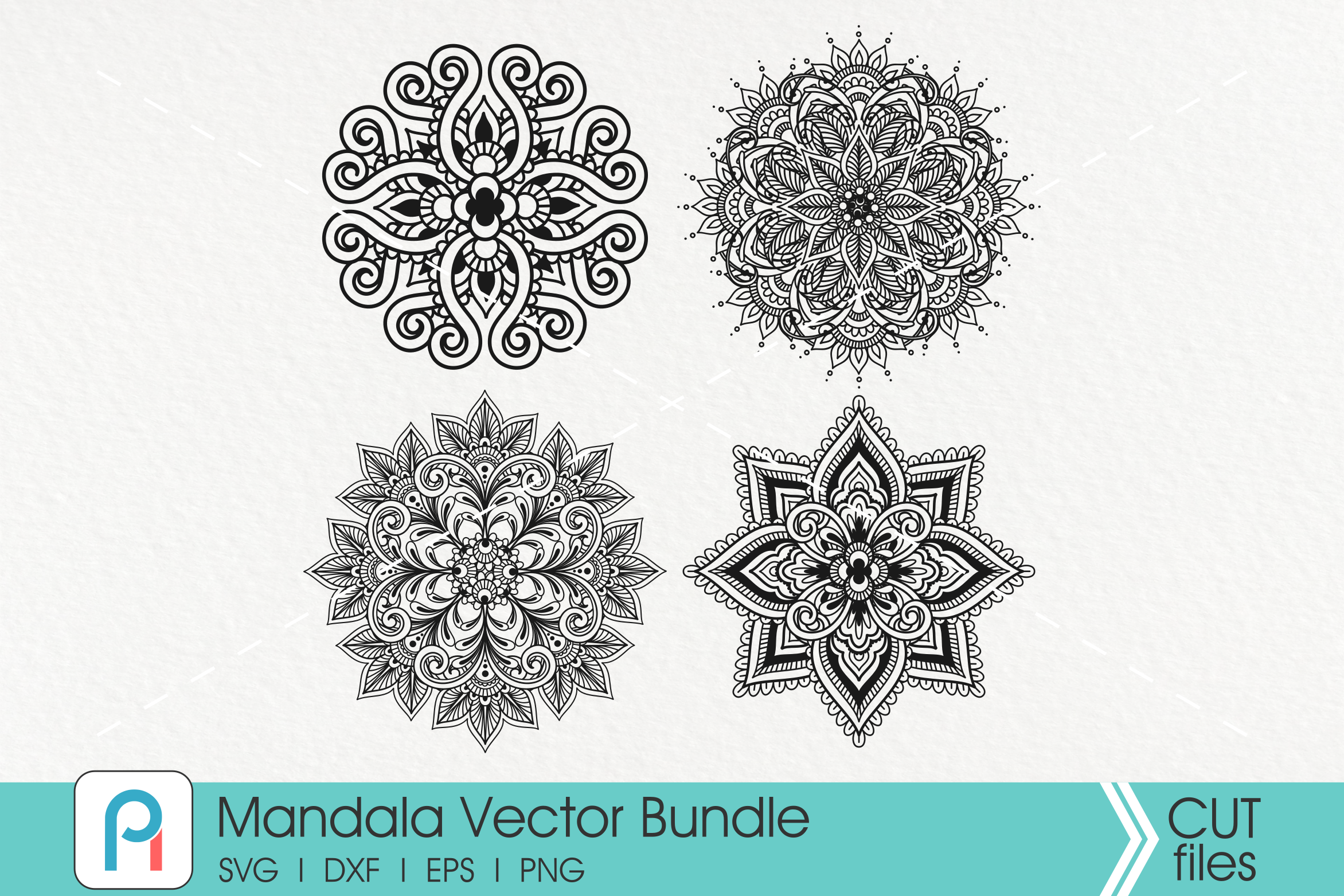 Download Free Mandala Mandala Clip Art Zentangle Graphic By Pinoyartkreatib for Cricut Explore, Silhouette and other cutting machines.