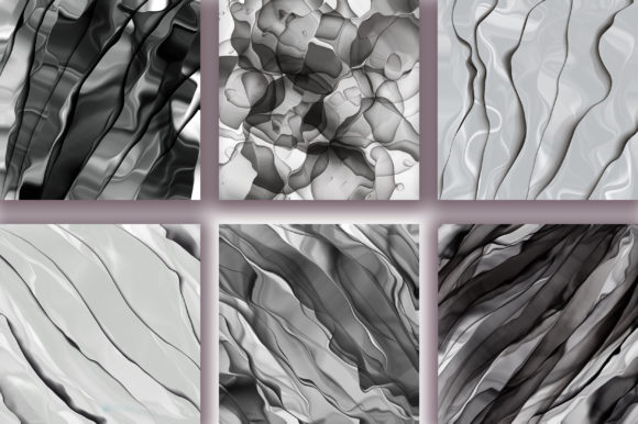 Monochrome Abstract Background Graphic Backgrounds By PinkPearly - Image 2