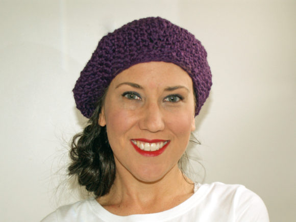 Nob Hill Beret Crochet Pattern Graphic Crochet Patterns By Knit and Crochet Ever After