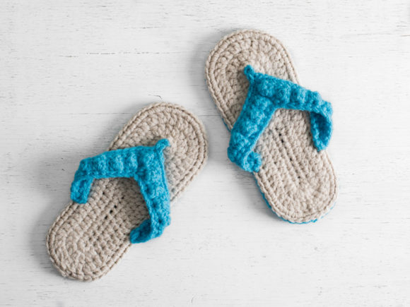 Ocean City Flip Flops Crochet Pattern Graphic Download