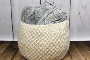 Oodles Basket Knit Pattern Graphic Knitting Patterns By Knit and Crochet Ever After