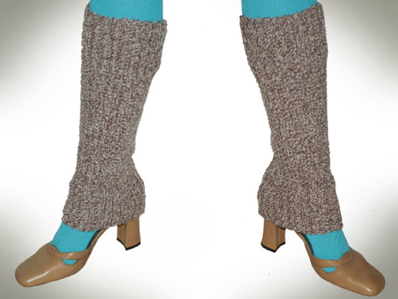 Over the Shoe Leg Warmers Graphic