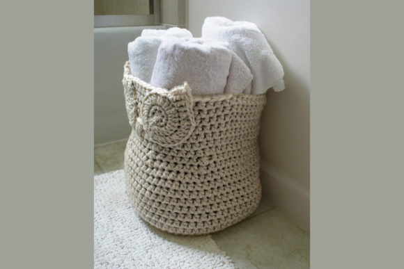 Owl Basket Crochet Pattern Graphic Crochet Patterns By Knit and Crochet Ever After - Image 2