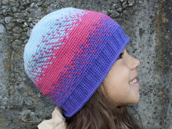 Pixelated Beanie Crochet Pattern Graphic Crochet Patterns By Knit and Crochet Ever After