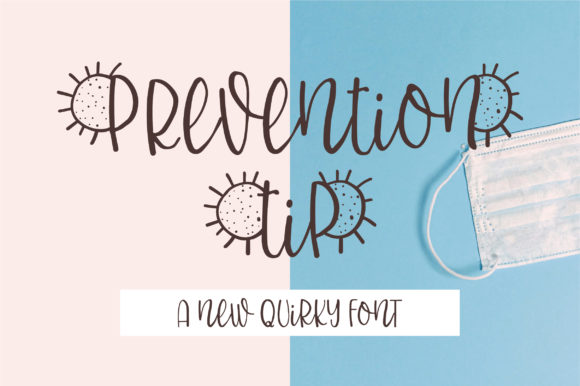 Print on Demand: PreventionTip Display Font By BitongType
