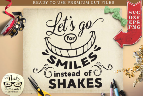 Download Free Smiles Social Distancing Quote Cut File Graphic By Nerd Mama Cut for Cricut Explore, Silhouette and other cutting machines.