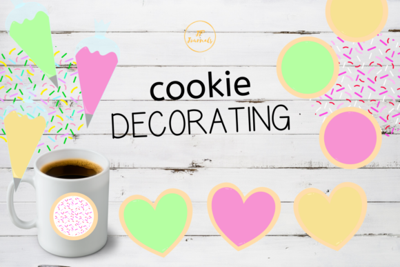 Download Free Sugar Cookie Decorating Clip Art Graphic By Jpjournalsandbooks for Cricut Explore, Silhouette and other cutting machines.