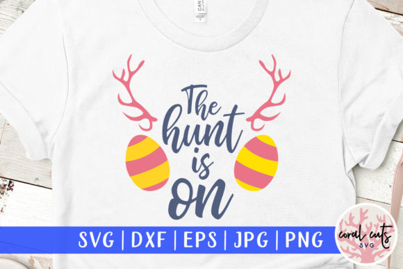 Download Free The Hunt Is On Graphic By Coralcutssvg Creative Fabrica for Cricut Explore, Silhouette and other cutting machines.