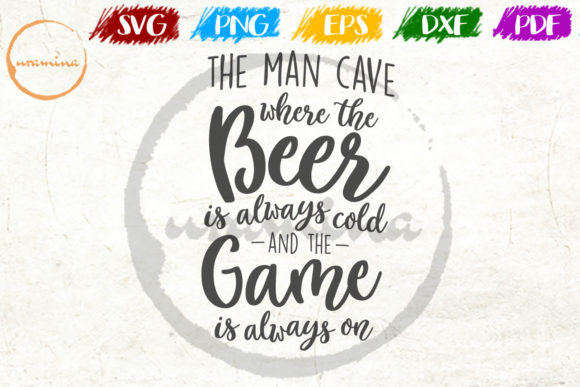 Download The Man Cave Where the Beer