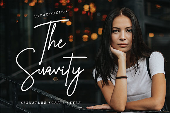 Print on Demand: The Suavity Script & Handwritten Font By Bluestype Studio