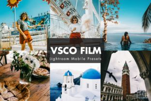 Download Free Vsco Film Lightroom Presets Graphic By Pixelhivepro Creative for Cricut Explore, Silhouette and other cutting machines.