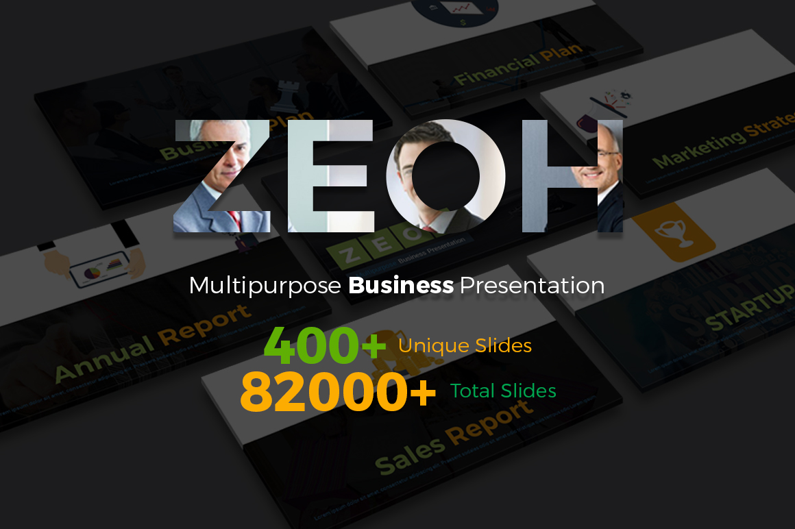 Download Free Zeoh Multipurpose Presentation Template Graphic By Pixelhivepro for Cricut Explore, Silhouette and other cutting machines.