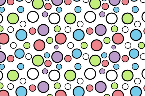 Download Free Colorful Circle Pattern Graphic By Curutdesign Creative Fabrica for Cricut Explore, Silhouette and other cutting machines.