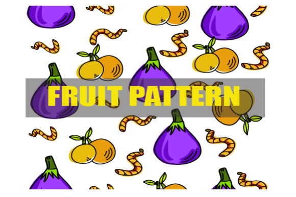 Fruit Pattern Design Modern Graphic Patterns By ahmaddesign99