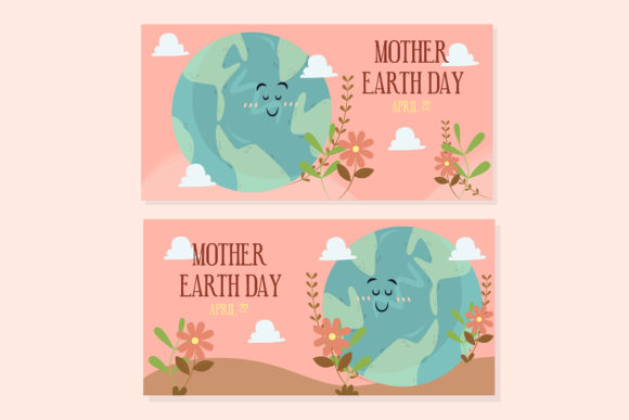 Download Free Mother Earth Day Hand Drawn Simple Graphic By Aprlmp276 for Cricut Explore, Silhouette and other cutting machines.