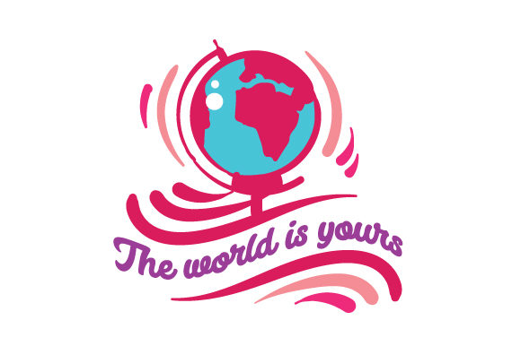 The World is Yours Travel Craft Cut File By Creative Fabrica Crafts - Image 1