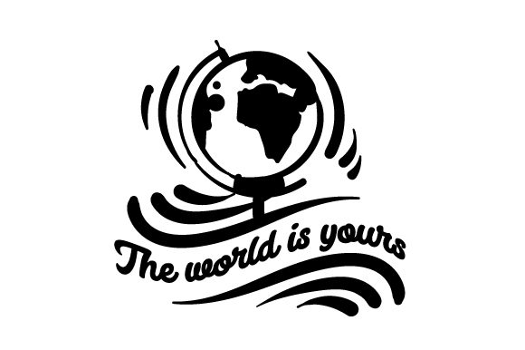The World is Yours Travel Craft Cut File By Creative Fabrica Crafts - Image 2