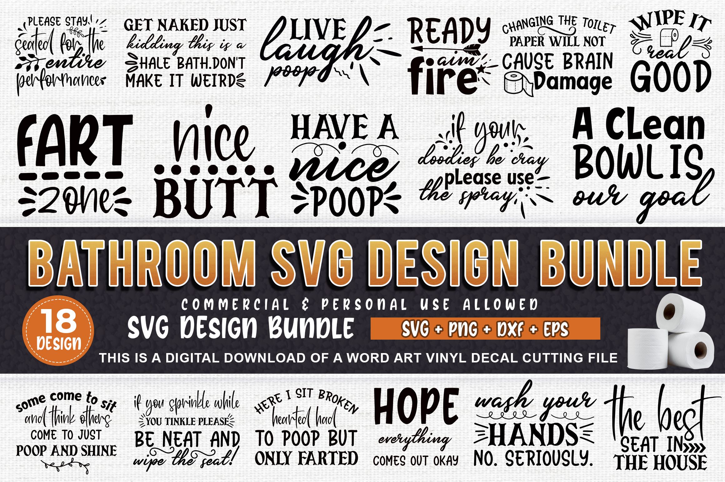 Download Free Bathroom Bundle Graphic By Subornastudio Creative Fabrica SVG Cut Files