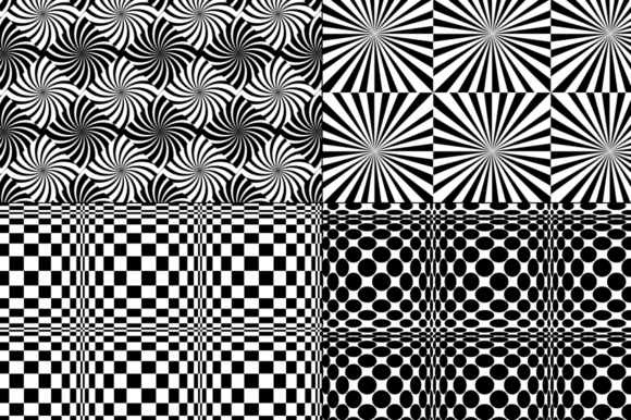 Download Free Black White Op Art Patterns Graphic By Melissa Held Designs for Cricut Explore, Silhouette and other cutting machines.
