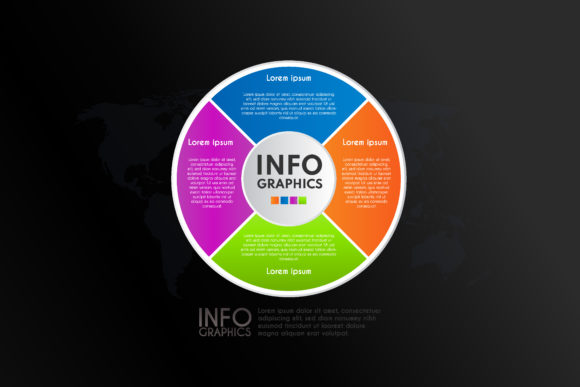 Color Infographic Icon Design Template Graphic Infographics By sartstudio