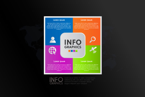 Color Infographics Design Template Graphic Infographics By sartstudio