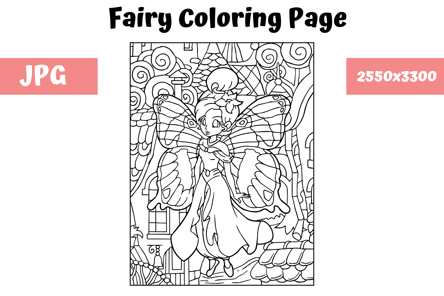 Coloring Tinkerbell Disney Fairies Coloring Book Page Prismacolor ... | 1000x1500