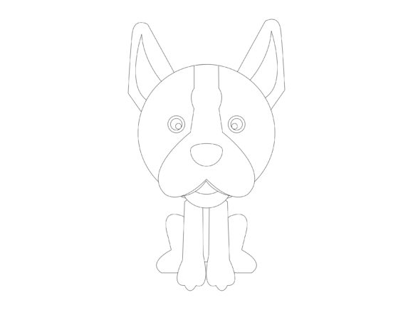 Download Free Dog Flat Design 5 Vector Icon Bundle Graphic By 1riaspengantin for Cricut Explore, Silhouette and other cutting machines.