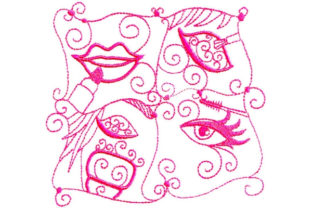 Enchanted Beauty Beauty Embroidery Design By Sookie Sews