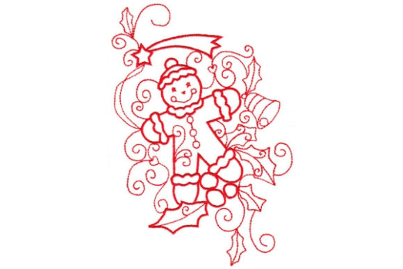 Enchanted Christmas Christmas Embroidery Design By Sue O'Very Designs