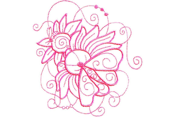 Enchanted Spring Spring Embroidery Design By Sue O'Very Designs