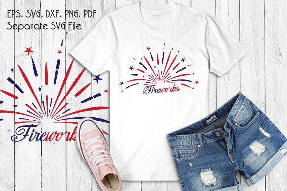 Fireworks Graphic Crafts By VectorSVGFormet