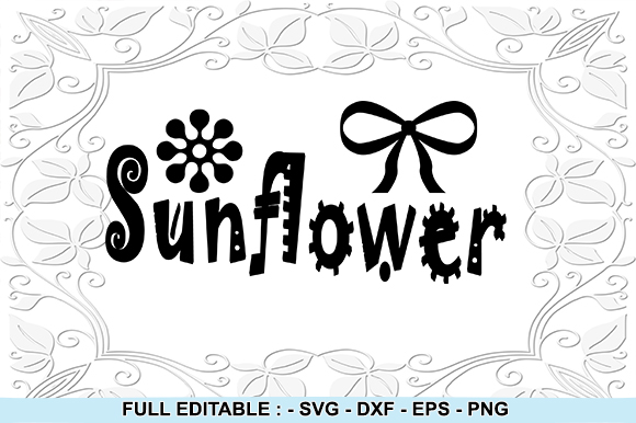 Download Free Flower Sunflower Graphic By Creativesya Creative Fabrica for Cricut Explore, Silhouette and other cutting machines.