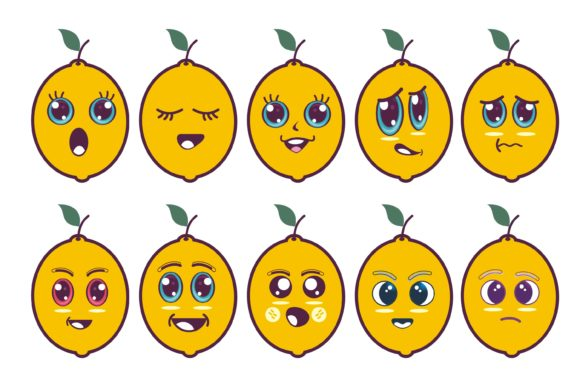 Fruit Guava Cartoon Graphic Illustrations By edywiyonopp