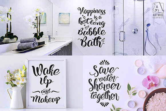 Download Free Funny Bathroom Quotes And Sayings Grafico Por Artwise Graphics for Cricut Explore, Silhouette and other cutting machines.
