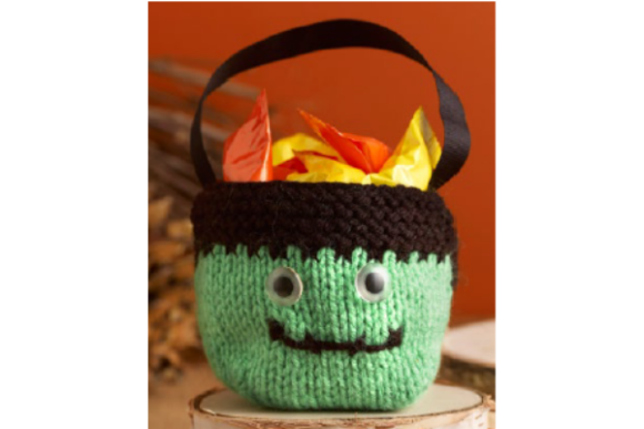 Halloween Sweet Bags Knitting Pattern Graphic Knitting Patterns By wunderfulwool