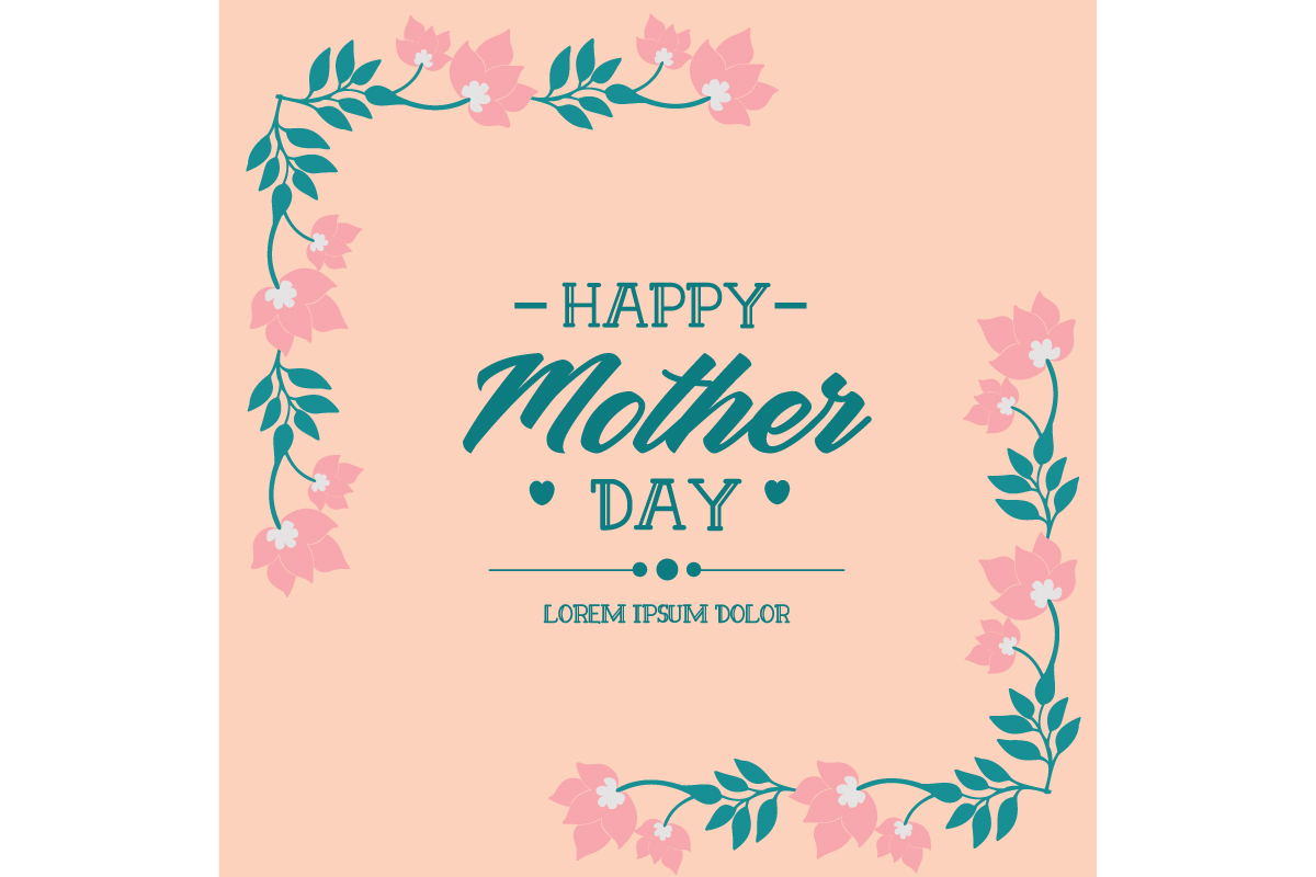 Happy Mother Day Elegant Card Design Graphic By Stockfloral