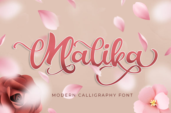 Print on Demand: Malika Display Font By agniardii