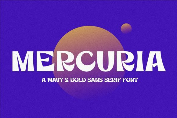 Print on Demand: Mercuria Sans Serif Font By francofuentes