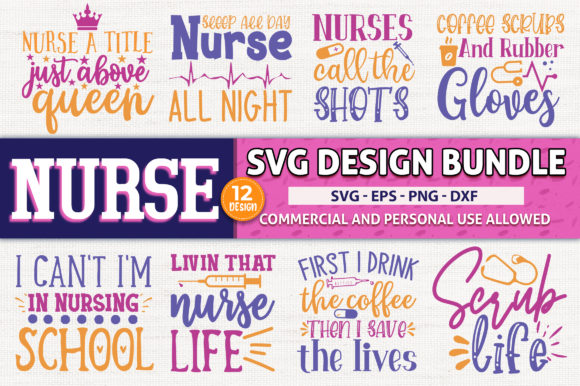 Download Free Nurse Bundle Graphic By Subornastudio Creative Fabrica for Cricut Explore, Silhouette and other cutting machines.