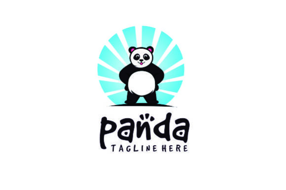 Panda Logo Design Vector Graphic Free Download