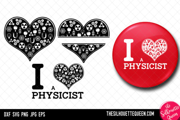 Download Free Physicist Heart Svg Valentines Day Svg Graphic By for Cricut Explore, Silhouette and other cutting machines.