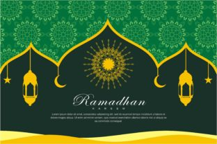 Print on Demand: Ramadhan Background Graphic Backgrounds By edywiyonopp