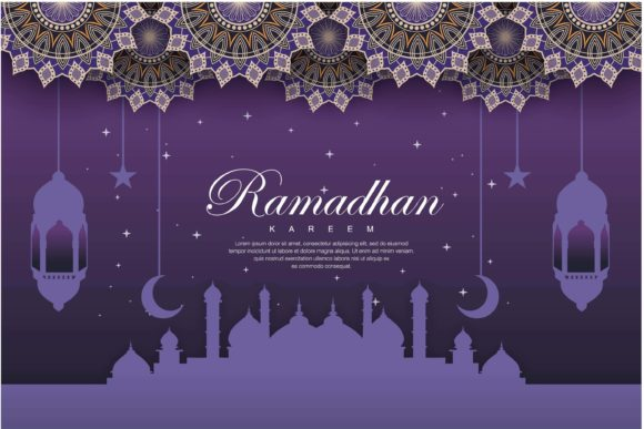 Download Free Ramadhan Background Graphic By Edywiyonopp Creative Fabrica for Cricut Explore, Silhouette and other cutting machines.