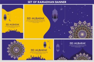 Print on Demand: Ramadhan Background Template Graphic Print Templates By edywiyonopp