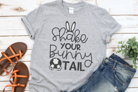 Download Free Shake Your Bunny Tail Graphic By Morgan Day Designs Creative for Cricut Explore, Silhouette and other cutting machines.